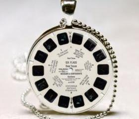 View Master Necklace Vintage Viewmaster Reel Viewfinder Eighties Fads Techie